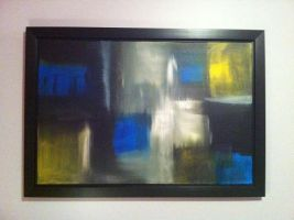 Abstract Acrylic 36in x 24in by MichalSirek