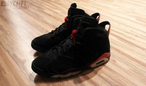 Black/Red 6s - Front by BBoyKai91