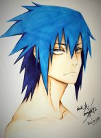 Sasuke.U Blue by Stray-Ink92
