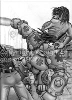 Gears cover 01 work in progres by RabidElf