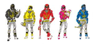 Goseigers Advanced by BadDogg
