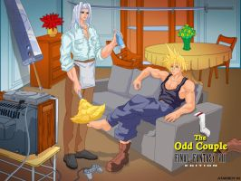 The Odd Couple FF7 Edition by Atariboy2600