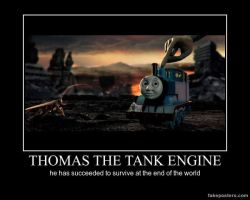 thomas will survive forever by mrlorgin