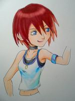 Kairi by PackRatTheArtist
