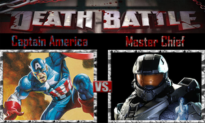 Captain America vs Master Chief by SonicPal