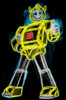 Bumblebee neon by AlanSchell