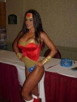 Elektra Knight As Wonder Woman 3of3 by CaptPatriot2020