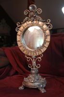 Vintage Ornate Mirror I by Pandora-Effekt