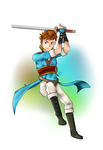 Xoras - Myrmidon ( Fire Emblem Awakening ) by KingdomTwilight