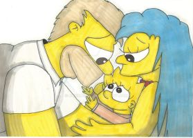 Homer And Marge - Our Lisa by ChnProd22