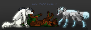 Late night talkers by N-i-s-h-ka