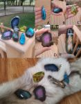 My Collection: Stones by The-Briarwood-Fox