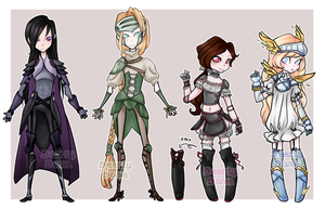 $9 Knight Adoptables [CLOSED] by DeerlyDame