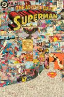 Comic Book, Comic Book - Adventures of Superman by flukiechic