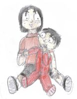 Luffy and Ace 1 by supernanny191