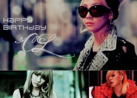 Happy Birthday CL by Nobuyuki7