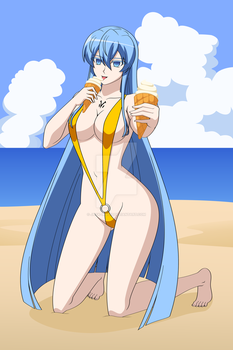 MC Fun in the Sun with Esdeath by Jack-Inqu13