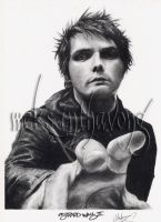 Gerard Way III by disdaindespair