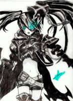 Black Rock Shooter by DieDarrouiz09