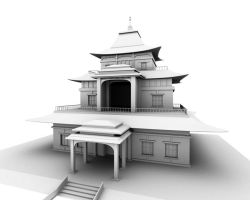 Temple by jussslic