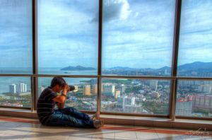 BTS of Georgetown Penang from 60th floor by fighteden