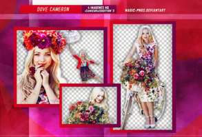 PACK PNG 270 | DOVE CAMERON by MAGIC-PNGS