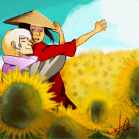 Sun sun sun here it comes by Kibarashi