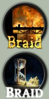 Braid Icons by kodiak-caine
