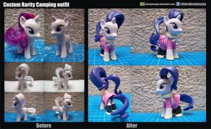 Custom Ponys Rarity Camping outfit by ELJOEYDESIGNS