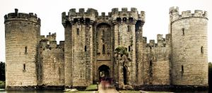 Bodiam Castle by DanB-Graphic-and-Web