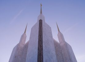 Washington, DC Temple by astarayel