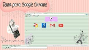 Tema Vintage para Google Chrome by GirlCreativeVintage