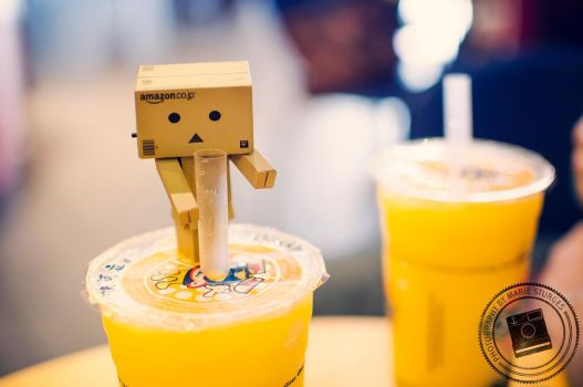 Danbo at Quickly by mariesturges