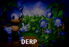 Sonic 3D Blast Prototype- Derping Sonic? O.o by ZaneIsEpicZX