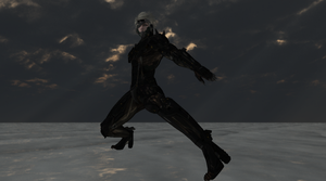 Raiden Metal Gear Rising for MMD Preview WIP by 25animeguys