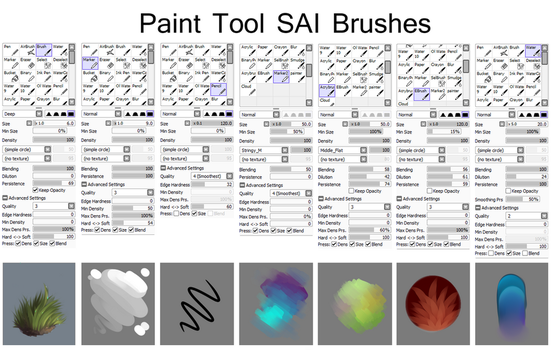 SAI brushes by Isihock