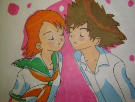 Sora and Tai 2 by CandyChick
