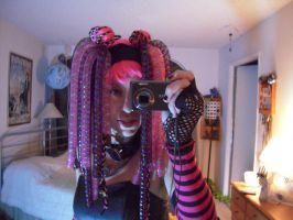 Cybergoth Dreadfalls by Llyzabeth