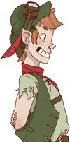 Steampunk Peter Pan by NELIP0T