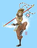 GaiaOnline Avatar: Monkey King by drunkenstyle