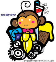Monkeyzzz by eriquechong97