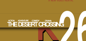 THE DESERT CROSSING - Banner by Anubins