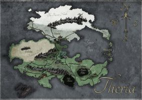 Map of Theria by Launchycat