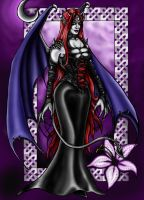 Succubus (Print Available) by Mistresselysia