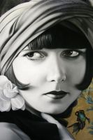 Detail, Louise Brooks by Raipun
