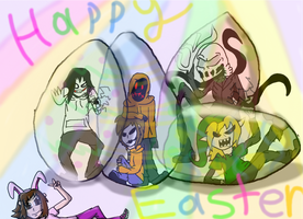 Happy Easter by shadowlover40