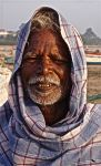 Old Fisherman. India. by jennystokes