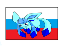 Glaceon A Russian One by Metylover2143