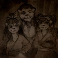 Drunkenheart Family Portrait by Sleepwalks