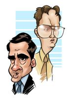 Scott and Schrute by andrewchandler80